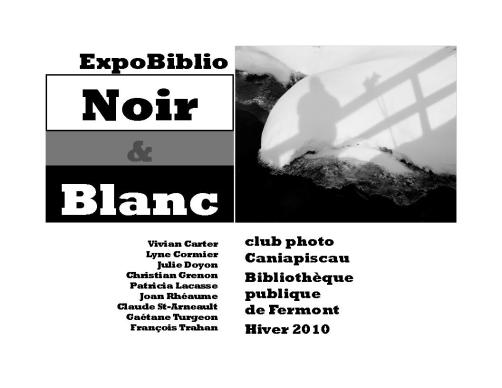 14 ExpoBiblio N&B catalogue