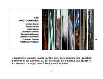 18 ExpoBiblio Ombres et Lumières photographes